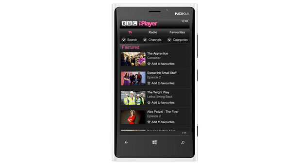 BBC iPlayer coming to Windows Phone 8 today