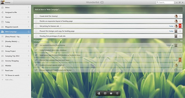 Wunderlist update for Android and Windows brings Pro version, a few freebies for the kids