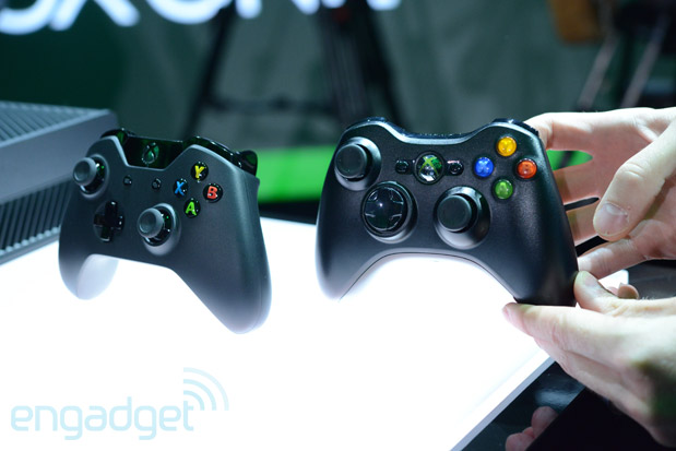 Xbox One controller vs Xbox 360 controller, fight!