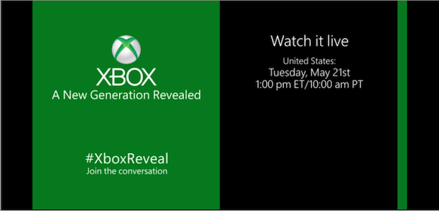 Watch the Xbox reveal live stream along with us