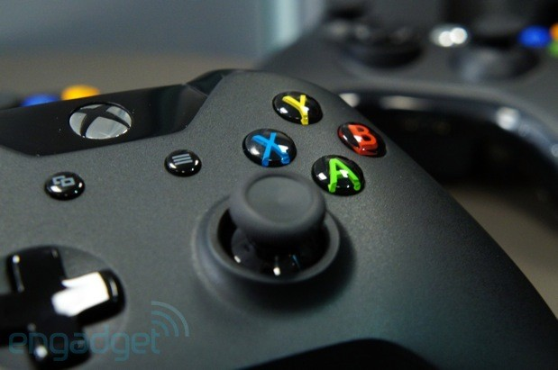 Handson with Xbox One's new gamepad, 'impulse triggers' included