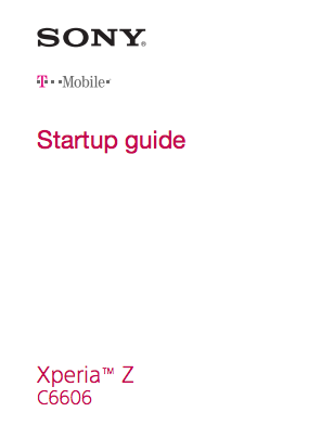 Sony Xperia Z for TMobile approved by the FCC with compatible LTE