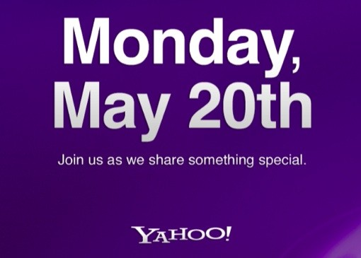 Yahoo schedules product-related event for May 20th in NYC, Marissa Mayer expected to speak