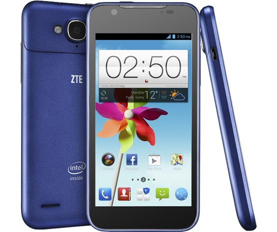ZTE Grand X2 In official with Clover Trail Atom, 24 frames per second photos
