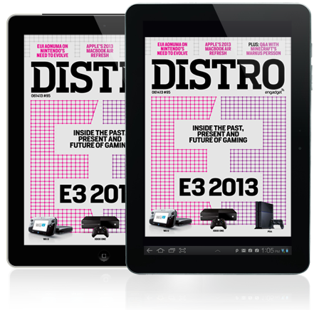 Distro Issue 95 The past, present and future of gaming converges at E3