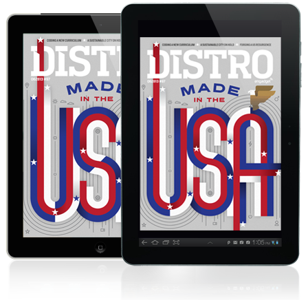 Distro Issue 97 Made in the USA edition