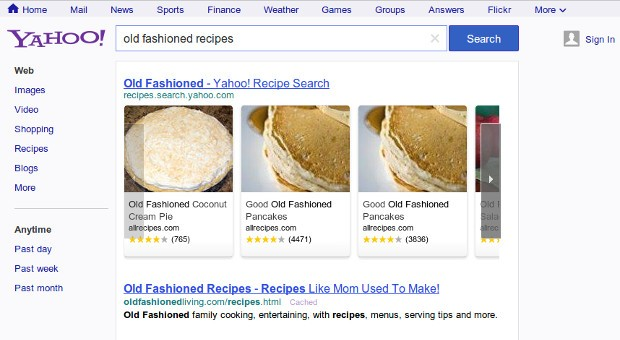 Yahoo gives search a redesign, unveils Googleesque nav bar