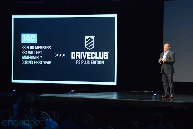 Sony announces Driveclub free to PS Plus members for a year