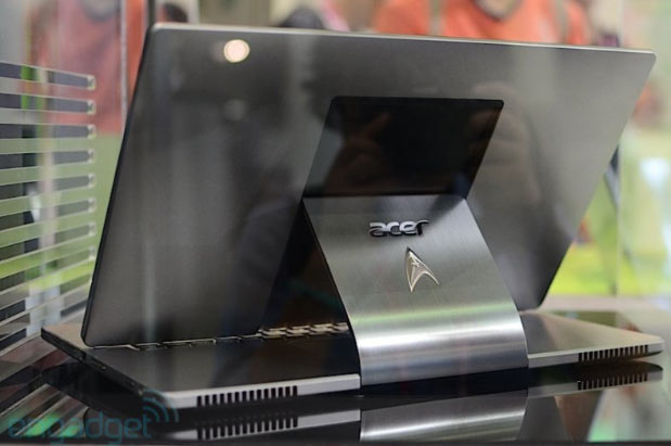 Acer shows off Aspire R7 Star Trek edition, we go eyeson at Computex