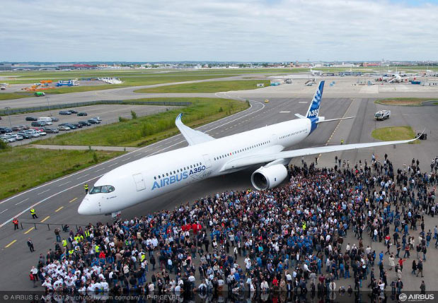 Uberefficient Trent XWB engine shines in Airbus A350's maiden flight