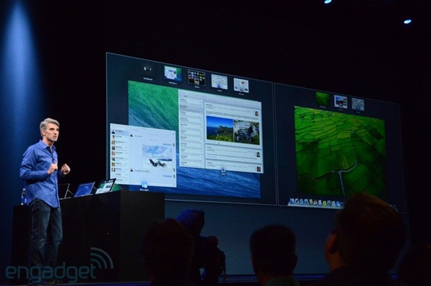 Mac OS X Mavericks promises better multi-display options, can use Apple TV as extra monitor