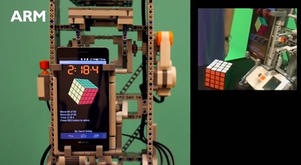Huawei Ascend P6 solves 4 x 4 Rubik's Cube in just 50 moves, considers meaning of life video