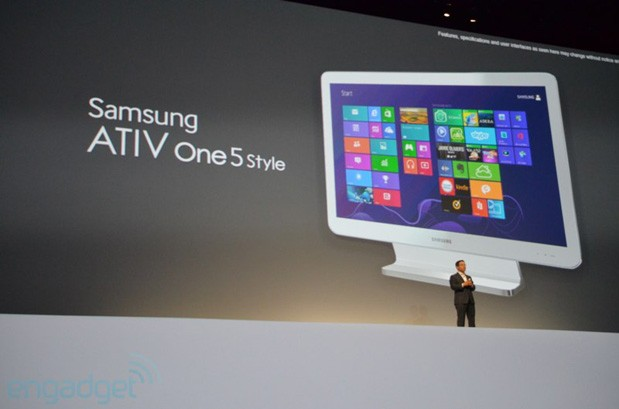 Samsung unveils the ATIV One 5 Style, a Windows 8 AIO with Galaxy design