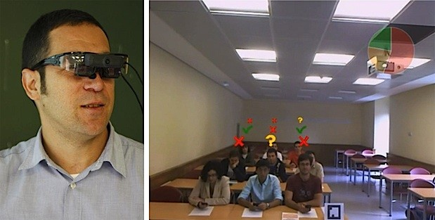 Spanish researchers use AR glasses and smartphones to aid studentteacher classroom communications