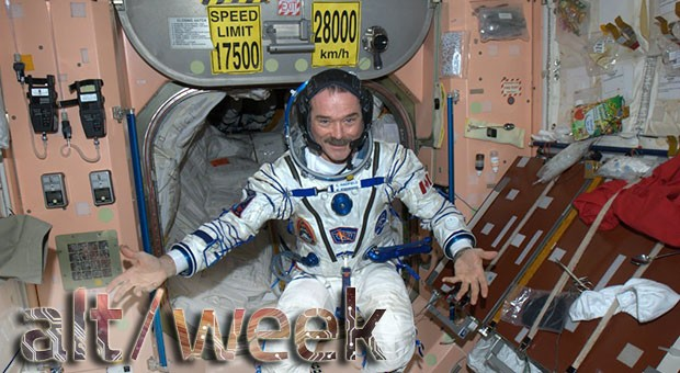 Altweek 61513 Chris Hadfield retires, invisibility cloaks and energyscavenging micro devices