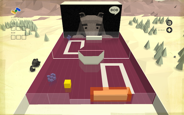 DNP Google invites you to Cube Slam your friend's, or a bear's, face