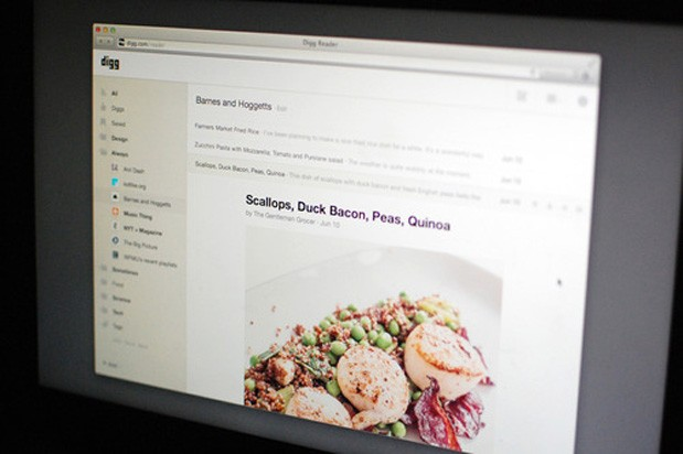Digg's Google Reader replacement beta opens on June 26th, friends and family get access on the 19th