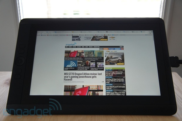 DNP Wacom Cintiq 13HD review a spacesaving pen display for the design savvy workflow