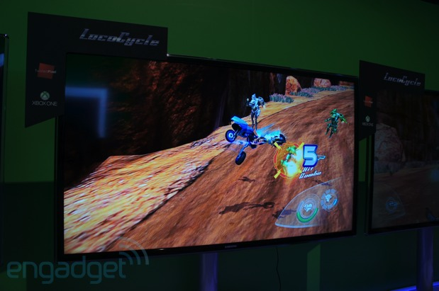 Microsoft Xbox One gaming roundup handson