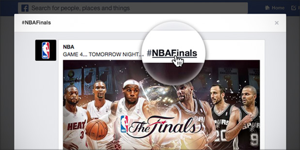 Facebook rolls out hashtag support for mobile web and related searches
