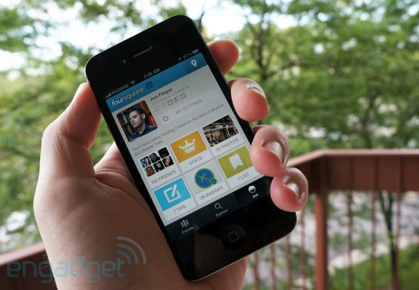 Foursquare checkins could have small NYC merchants checking you out with promoted listings