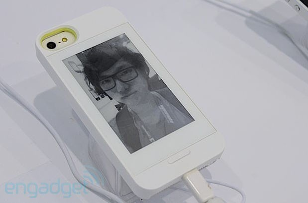Gajah InkCase looks to beat Popslate to the punch with $129 E ink iPhone 5 case