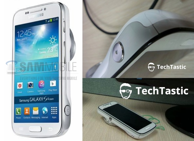 Purported Galaxy S 4 Zoom flaunts its profile in multiple leaks
