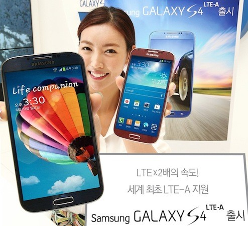 SK Telecom launches the world's first LTEAdvanced network, and the Galaxy S4 LTEA
