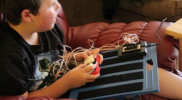 Hack A Day A custom gaming controller for disabled gamers