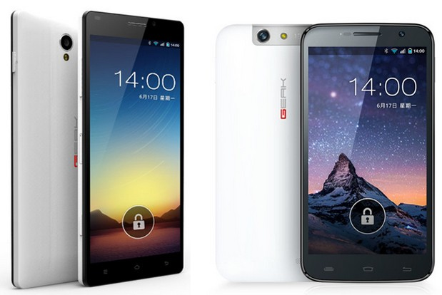 GEAK unveils Eye and Mars smartphones with 13MP cameras, budget prices