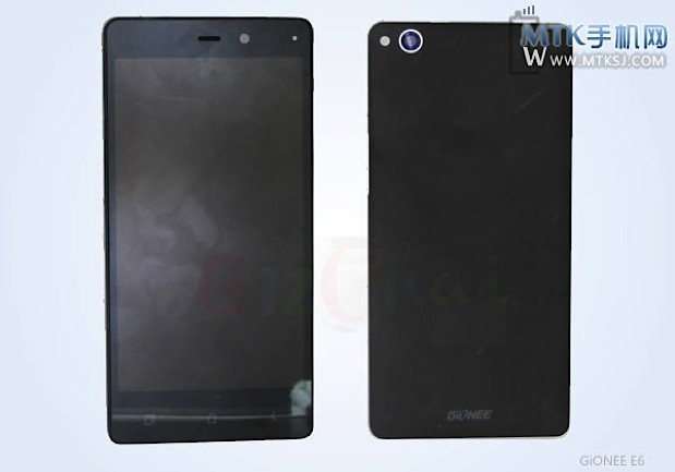 Gionee ELIFE E6 smarphone leaks with 5-inch 1080p display, quad-core SoC and 13MP cam