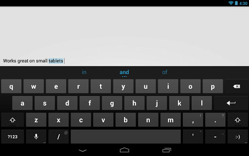 Google releases stock Android keyboard to Play store
