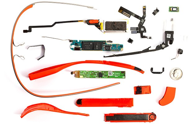 EDIT Google Glass teardown