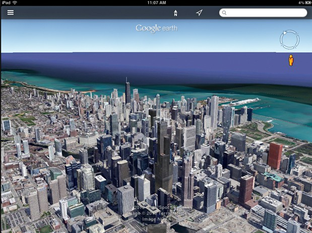 Google Earth update for Android and iOS brings Street View and streamlined interface