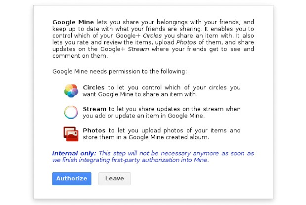 Google Mine service owuld reportedly let Google friends lend real goods
