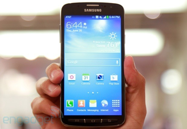 Samsung Galaxy S4 Active from AT&T handson