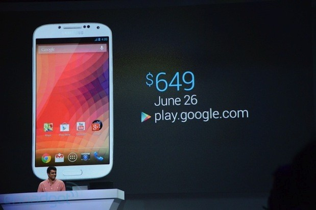Google Play Edition Samsung Galaxy S 4 and HTC One now available for purchase