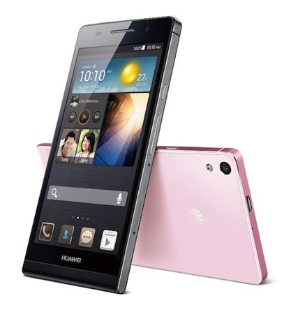 Huawei Ascend P6 announced 618mm thickness, 47inch 720p display
