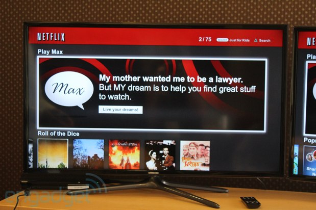 Netflix Max handson Jellyvision's take on your movie queue