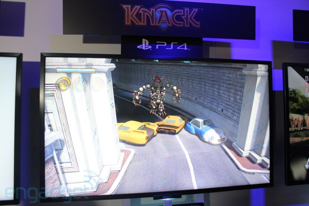 Sony PlayStation 4 gaming roundup handson