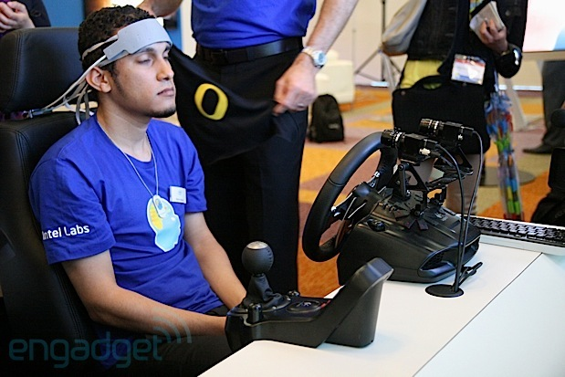 Intel Labs measures cognitive workload of distracted drivers, we go eyes-on with the demo (video)