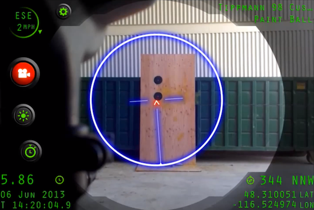 Inteliscope app version one shows off its iPhoneenabled sniping skills video