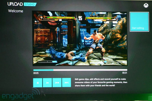 Xbox One Upload Studio lets you share your gameplay vids, live streams through Twitch