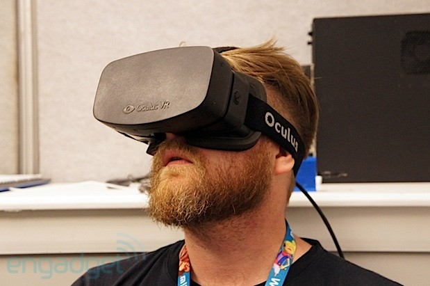 Oculus Rift HD prototype VR headset appears at E3, we go hands and eyes on