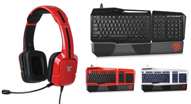 Mad Catz launches four new gaming headsets, STRIKE gaming keyboard at E3