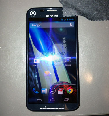 Motorola's new smartphone leaked, reportedly being tested on Sprint 4G