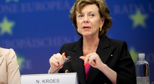 European Commission VP Neelie Kroes