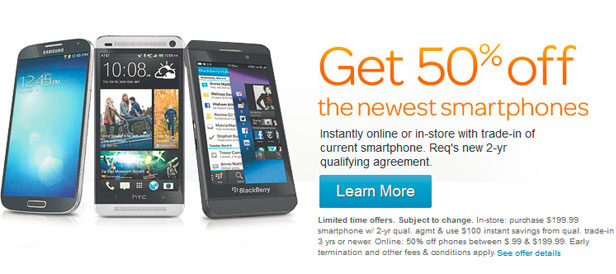 AT&T cuts smartphone prices in half, jumps on the discount bandwagon