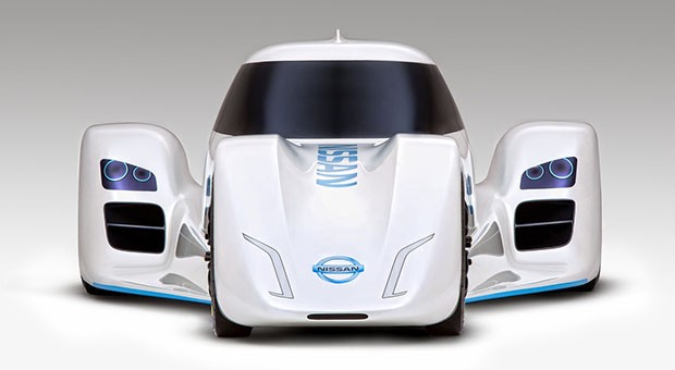 Watch how Nissan's hybrid supercar fares on Top Gear's test track