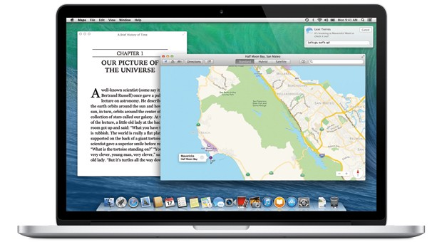 OS X Mavericks skips Apple network file sharing by default, plays nicely with others